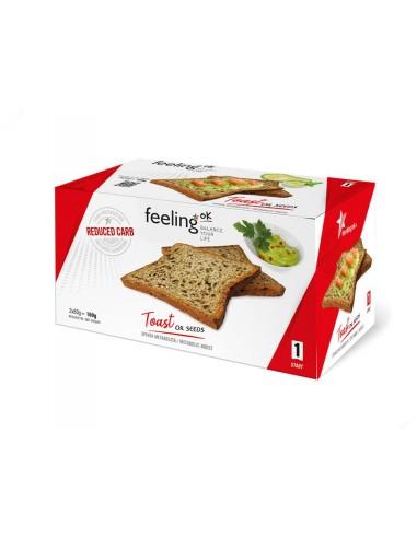 TOSTADAS START SEMILLAS 160G - FeelingOk