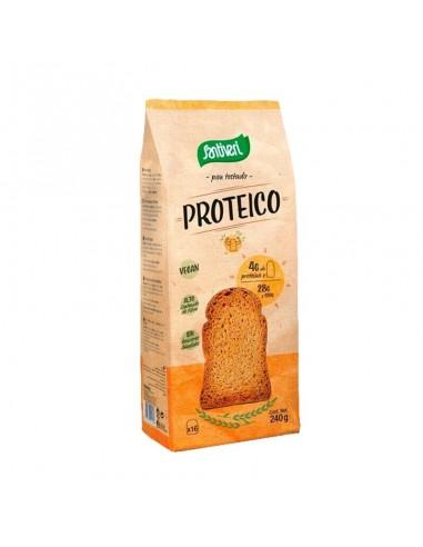 PAN TOSTADO PROTEICO 240G - Santiveri