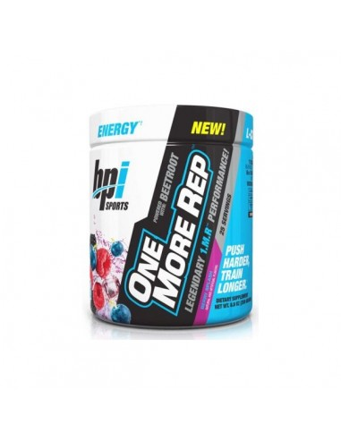 ONE MORE REP 250G - BPI - Fruits Punch