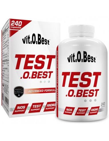 TEST.O.BEST 240Caps - Vitobest