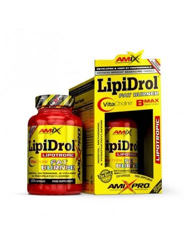 LIPIDROL FAT BURNER 120 CAPS - Amix