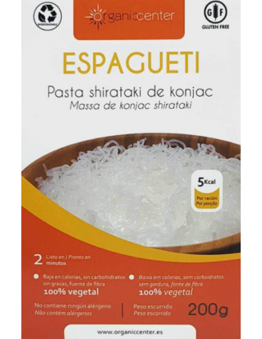 KONJAC (ESPAGUETI) - Organic Center