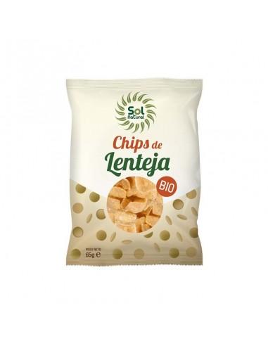 CHIPS DE LENTEJA BIO 65gr - Solnatural