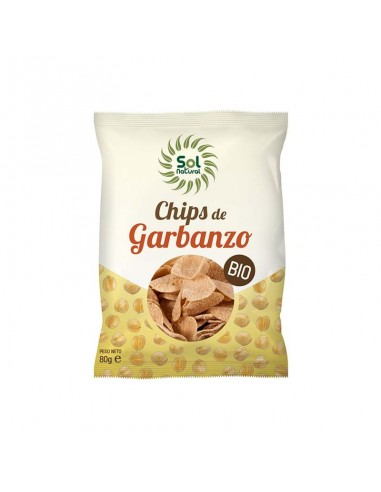 CHIPS DE GARBANZO BIO 80gr - Solnatural