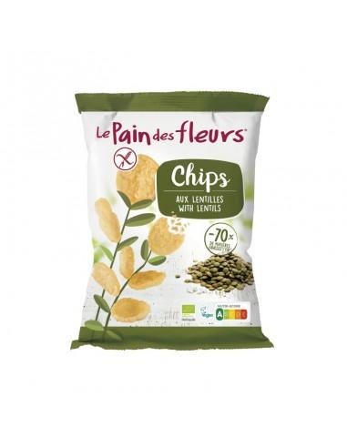 CHIPS DE LENTEJAS 50G - Le Pain des...
