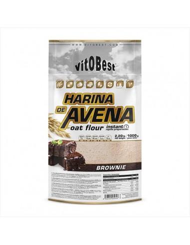 HARINA DE AVENA (1KG) BROWNIE - Vitobest