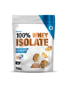 100% WHEY ISOLATE 700G COOKIES AND CREAM - Quamtrax