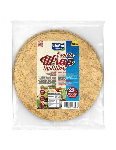 LIFE PRO FIT FOOD PROTEIN WRAP...