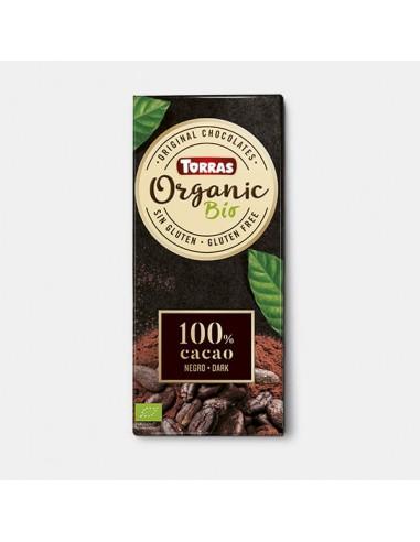 CHOCOLATE PURO 100% (100G) - Torras
