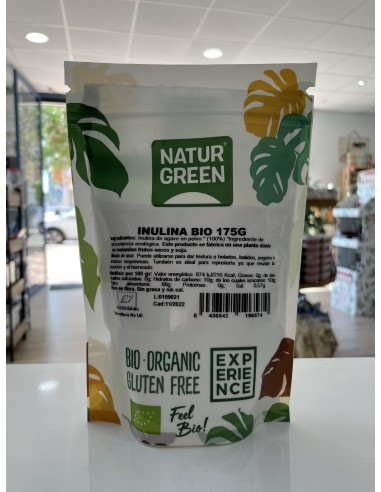 INULINA BIO EN POLVO (175G) - Naturgreen