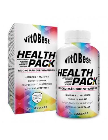 HEALTH PACK 100 CAPS - Vitobest