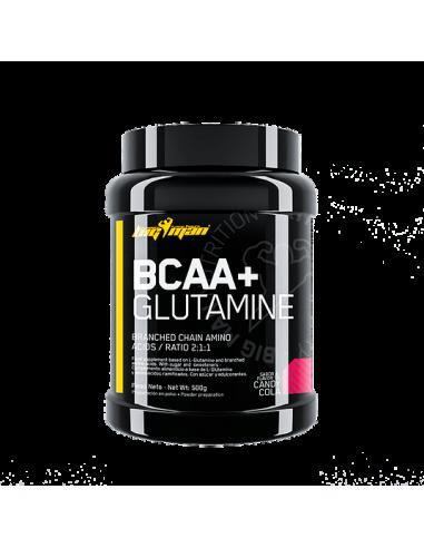 BCAA + GLUTAMINA (500G) - Bigman
