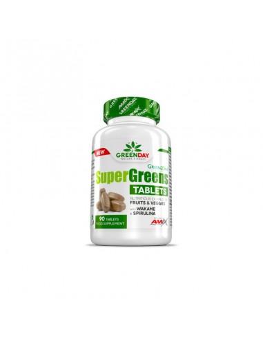 SUPER GREENS 90Caps - Amix