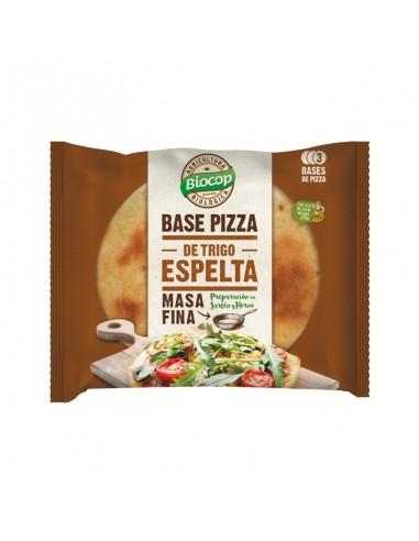 BASE DE PIZZA DE ESPELTA - MASA FINA...