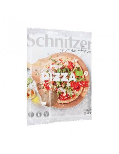 BASE PIZZA SIN GLUTEN 100 G - Schnitzer