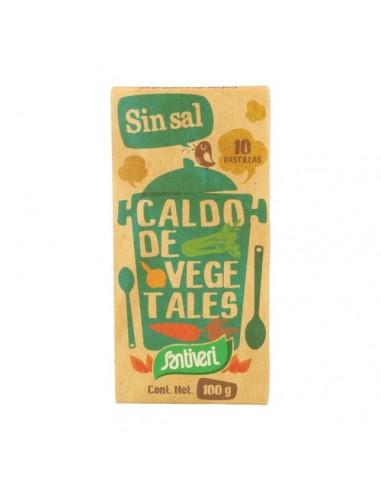 CALDO VEGETAL SIN SAL 100G - Santiveri