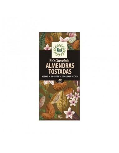 CHOCOLATE CON ALMENDRAS TOSTADAS BIO...