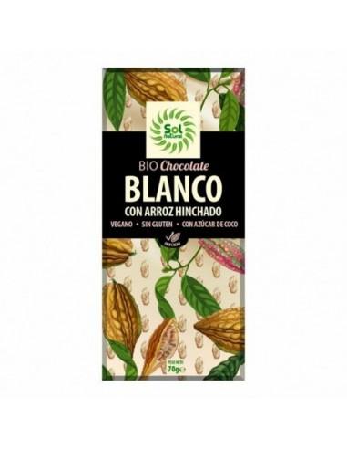 TABLETA DE CHOCOLATE BLANCO CON ARROZ...