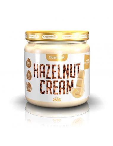 HAZELNUT CREAM WHITE CHOCOLATE 250G -...