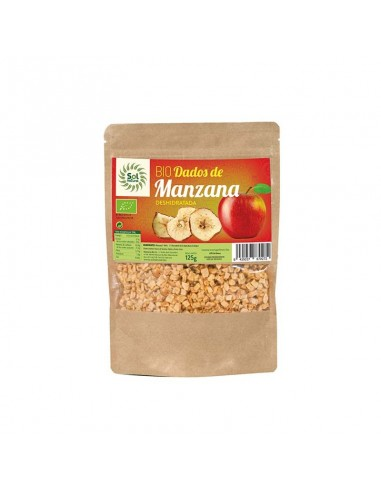 DADOS DE MANZANA DESHIDRATADA 125G -...