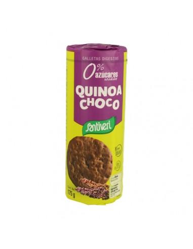 GALLETA DIGESTIVE QUINOA CHOCO 175G -...