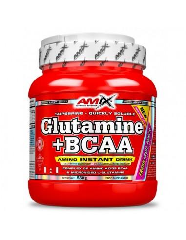 Glutamine + BCAA Powder  - Amix...