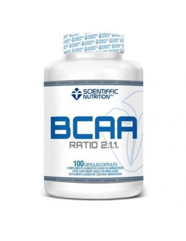BCAA 100% 100Caps - Scientiffic...
