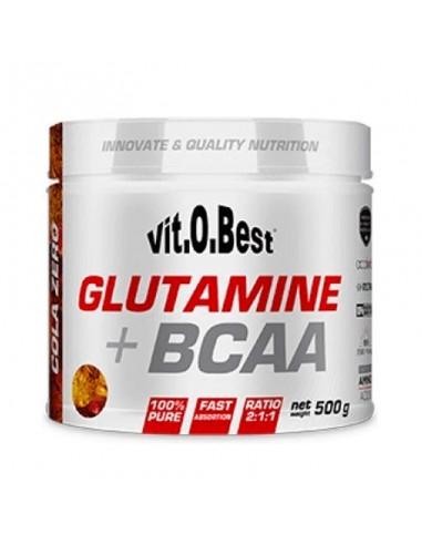 GLUTAMINE + BCAA 500 G - Vitobest - Cola