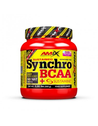 SYNCHRO BCAA + SUSTAMINE 300G - Amix...