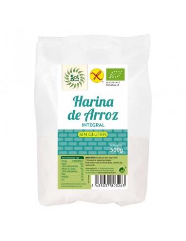 HARINA DE ARROZ INTEGRAL SIN GLUTEN...