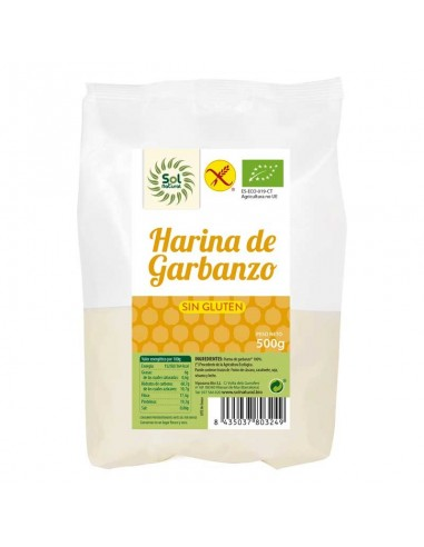 HARINA DE GARBANZO SIN GLUTEN BIO...