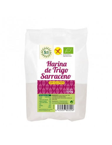 HARINA DE TRIGO SARRACENO SIN GLUTEN...
