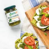 𝙂𝙤𝙛𝙧𝙚𝙨 𝙙𝙚 𝙚𝙨𝙥𝙞𝙣𝙖𝙘𝙖𝙨 𝙘𝙤𝙣 𝙢𝙤𝙯𝙯𝙖𝙧𝙚𝙡𝙡𝙖 𝙩𝙤𝙢𝙖𝙩𝙚 𝙮 𝙥𝙚𝙨𝙩𝙤  Si te gusta el pesto y no lo consumes por su calidad de ingredientes ya que la mayoría van repletos de aceite de girasol ... ESTE ES EL TUYO !! ☝🏽  Nuestro pesto ecológico Artigiana Genovese italiano está elaborado con aceite de oliva virgen extra 100%, albahaca genovesa, anacardos y piñones.   Podrás encontrarlo en tu tienda CerreFit más cercana o en la web 👇🏽 🌐www.cerrefit.es  #pesto #pestogenovese #realfood #realfooding #saludable #ricoysano #realfooder #keto #ketodiet #murcia #cerrefit